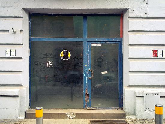 Abandoned shopfront in Katowice